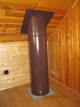 Nový komín – Krbová kamna – Svislý kouřovod s funkcí komína