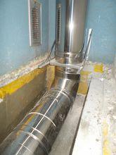 Odvod spalin společný – Kondenzační kotle – Kaskádové napojení v kotelně