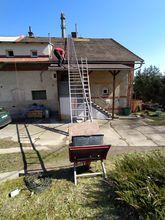 Oprava – Nadstřešní část komína
