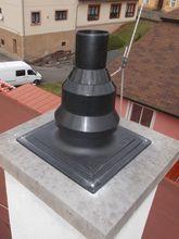 Vložkování komína – Kondenzační kotel