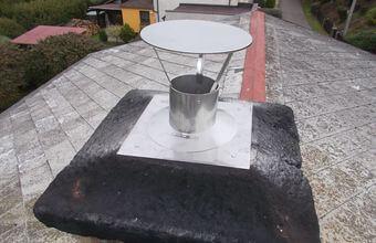 Vyvložkovaný komín – Kotel na pevná paliva