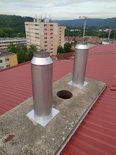 Vložkování komína – Plynový kotel